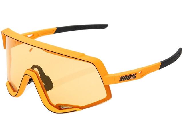 100% Glendale Colored Lens Sunglasses mustard